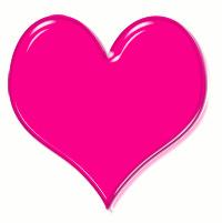Fuchsia Heart