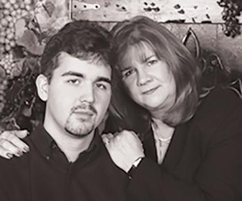 Leah Richter and son JR