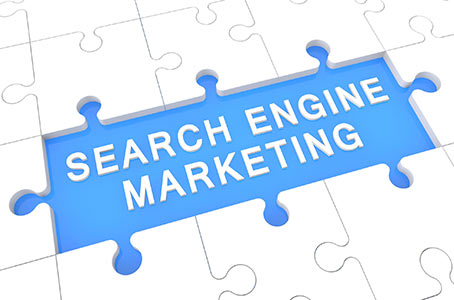 Puzzle piece area labeled Search Engine Marketing