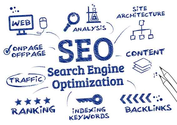 Search Engine Optimization sketch